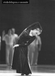 Elizabeth Maurin dans Magnificat de John Neumeuier en 1987