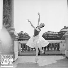 Christiane Vaussard à l'Opéra Garnier