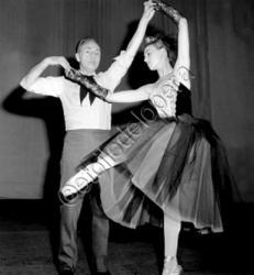 Avec G.Balanchine en 1963