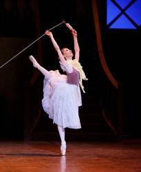 Lise danse La Fille mal gardée