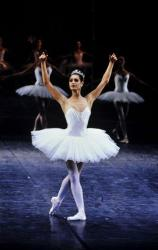 Marie-Claude Pietragalla lors du défilé du corps de ballet de l'Opéra