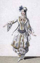 Pauline Duvernay dans la Tentation (rôle de Miranda)