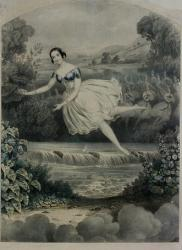 Carlotta Grisi dans La Péri