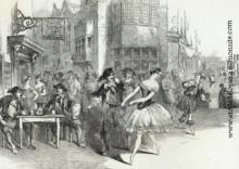 Sofia Fuoco dansant en Angleterre