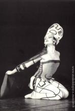 Françoise Legrée, la Sirène dans le fils Prodigue de G.Balanchine