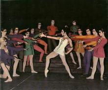 Notre Dame de Paris (1972), chorégraphie de Roland Petit