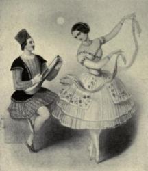 Fanny Cerrito et Arthur Saint-Léon
