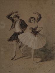 Esméralda avec Arthur Saint-Léon