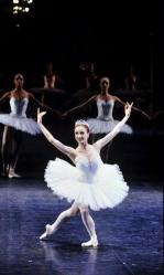 Elizabeth Maurin lors du défilé du corps de ballet de l'Opéra