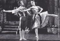 Avec Elizabeth Terabust dans Don Quichotte au London Festival Ballet