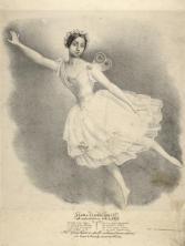 Flora Fabbri dans la Sylphide