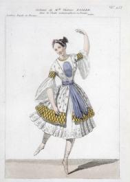Costume de Fanny Elssler - Source image : Gallica/BNF