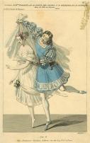 La Fille du Danube avec Marie Taglioni (Fleur des champs) et Joseph Mazilier (Rudolph)