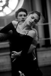 Répétition avec Dorothée Gilbert