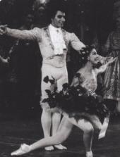 Attilio Labis et Margot Fonteyn