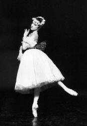 Elizabeth Maurin dans la Sylphide de Pierre Lacotte