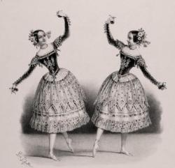 Lise Noblet et sa soeur Mme Dupont