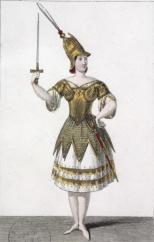 Marie Taglioni dans le rôle de Zulma - Source : Gallica/Bnf