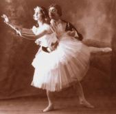 Gustave Ricaux et Olga Spessivtseva dans Giselle