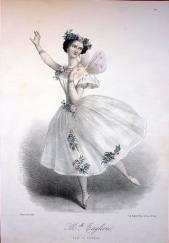 Marie Taglioni dans la Sylphide