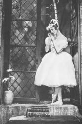Ghislaine Thesmar dans La Sylphide